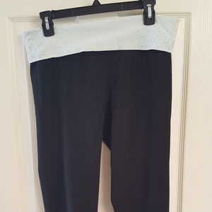 VICTORIA'S SECRET Sweatpants Yoga Large Black